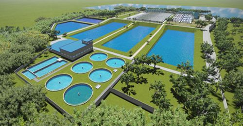 La Mesa water treatment plant in the Philippines